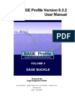 SAGE Profile V6.3.2 User Manual - Volume 4