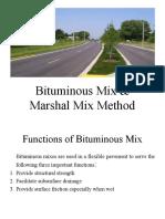 Bituminous Mix