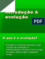 Introdução a Evolução!