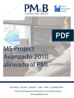MSProject2010 PMI