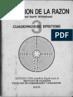 Whitehead Alfred - La Funcion de la Razon.pdf