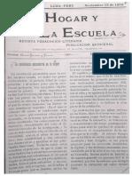 Elvira Garcia y Garcia - La Enseñanza Secundaria en La Mujer