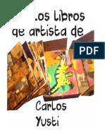 Libros de Artista. Carlos Yusti