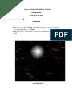 Estudio Astronomico Alineacion Especial- 21 de Mayo de 2011(Espada de Dios- Amuleto de RA)