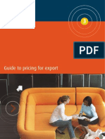 Austrade Pricing for Export