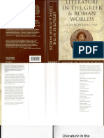 [Oliver Taplin] Literature in the Greek and Roman Worlds, A new perspective.