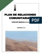 Plan Relaciones Comunitarias