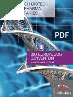 French Biotech and Pharma Companies 17-10-2013!17!20