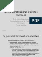 3. Direito Constitucional e Direitos Humanos