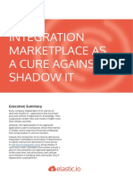 Integration Marketplace as a Cure Against Shadow IT