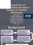 Systems Proposal on Inventory Management