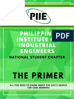 The PIIE-NSC Core Team Primer 1617