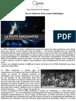 La Flûte enchantée, féérie et richesse d_un conte initiatique (Actualité) _ Opera Online - Le site d
