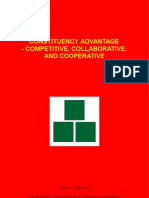 Constituency Advantage - Competitive, Collaborative, and Cooperative