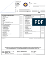 Platform and Stairway Lift Inspection Form