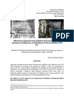Dossier Historia Organización Pobladores Barrancas
