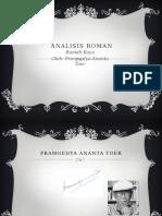 Analisis Roman