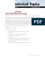APA_TT-053 Shearwall Deflection Formula