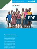 La Situation des enfants dans le monde 2015 – Résumé Réimaginer l'avenir