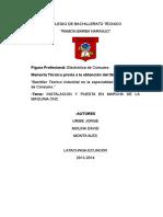 Colegio de Bachillerato Técnico