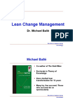 Lean Change Management