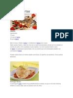 10 Recetas Cortas Con Imagen