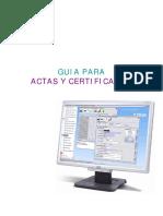 Actas&Certificados2010