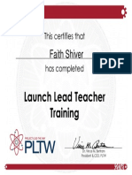 leadteachertraining certificate