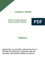 SistemasOperacionais - Processos e Threads