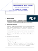 6 Memoria Descriptiva Electricas