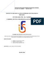 Proyecto Juan Catura 1