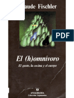 Claude Fischler - El (h)Omnívoro