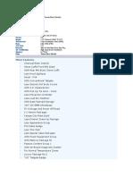 F150 Build Sheet