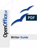 OpenOffice Writer Guide