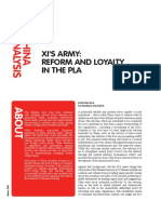 Xis Army - Reform and Loyalty in the Pla - Ecfr164