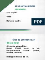 Inss Etica No Servi Publico