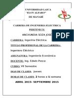 2.Portafolio de Ing.economica