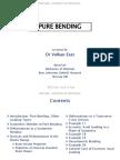 Mech206 - 2014-15 Spring - l04 - Pure Bending