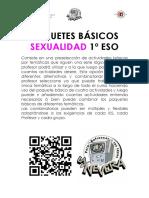 PAQUETE BASICO SEXUALIDAD 1-¦ ESO