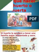 Presentación Huertos familiares