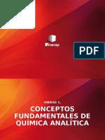 Unidad 1 Conceptos Fundamentales de Quimica Analitica