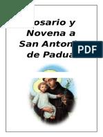 Rosario y Novenario a San Antonio de Padua