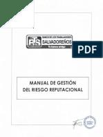 Manual de Gestion Del Riesgo Reputacional (Actualizado)