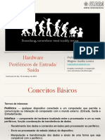Hardware -  Periféricos de Entrada-Saída