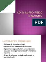 Lo Sviluppo Motorio