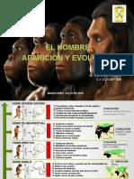El Hombre Aparicon y Evolucion