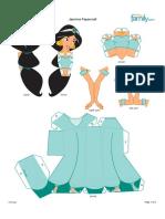 Caixa Das Princesas - Jasmine