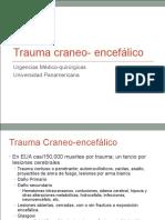 Trauma Craneoencefálico