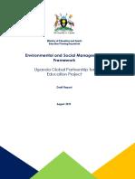 Environmental and Social Management Framework Uganda Global Partnership for Education Project