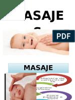 Rotafolio Masajes en Bebes